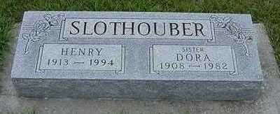 SLOTHOUBER, DORA - Sioux County, Iowa | DORA SLOTHOUBER
