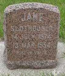 SLOTHOUBER, JANE - Sioux County, Iowa | JANE SLOTHOUBER