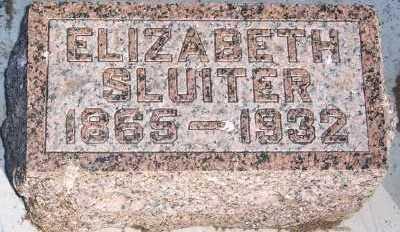SLUITER, ELIZABETH - Sioux County, Iowa | ELIZABETH SLUITER