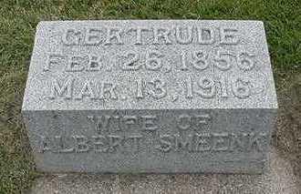 SMEENK, GERTRUDE (MRS. ALBERT) - Sioux County, Iowa | GERTRUDE (MRS. ALBERT) SMEENK