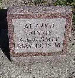 SMIT, ALFRED - Sioux County, Iowa | ALFRED SMIT