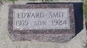 SMIT, EDWARD - Sioux County, Iowa | EDWARD SMIT