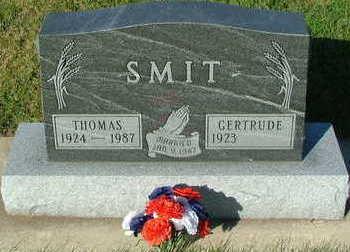 SMIT, THOMAS - Sioux County, Iowa | THOMAS SMIT