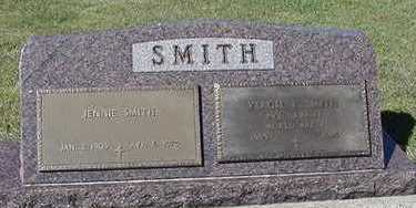 SMITH, JENNIE (MRS. VERGIL) - Sioux County, Iowa | JENNIE (MRS. VERGIL) SMITH