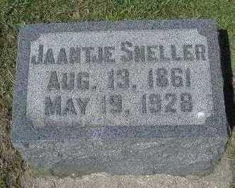 SNELLER, JAANTJE - Sioux County, Iowa | JAANTJE SNELLER
