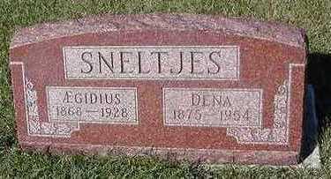 SNELTJES, DEAN (MRS. A/E) - Sioux County, Iowa   DEAN (MRS. A/E) SNELTJES