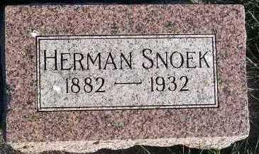 SNOEK, HERMAN - Sioux County, Iowa | HERMAN SNOEK