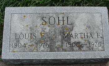 SOHL, MARTHA (MRS. LOUIS) - Sioux County, Iowa | MARTHA (MRS. LOUIS) SOHL