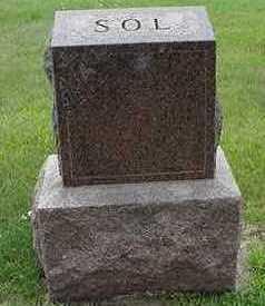 SOL, HEADSTONE - Sioux County, Iowa | HEADSTONE SOL