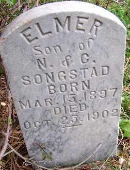 SONGSTAD, ELMER (SON OF N. & C.) - Sioux County, Iowa | ELMER (SON OF N. & C.) SONGSTAD