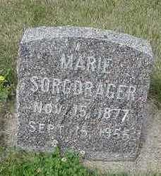 SORGDRAGER, MARIE - Sioux County, Iowa | MARIE SORGDRAGER
