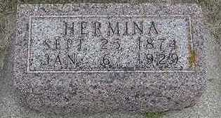 SPAAN, HERMINA - Sioux County, Iowa   HERMINA SPAAN