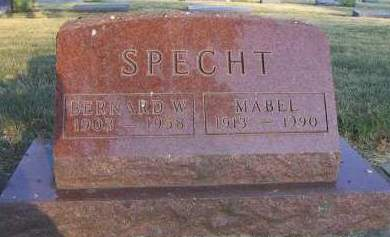 SPECHT, MABEL - Sioux County, Iowa | MABEL SPECHT