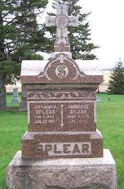 SPLEAR, AMBROSE - Sioux County, Iowa | AMBROSE SPLEAR