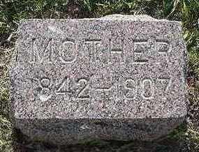 SPYKERMAN, MOTHER - Sioux County, Iowa   MOTHER SPYKERMAN
