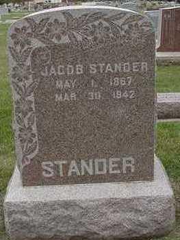 STANDER, JACOB - Sioux County, Iowa   JACOB STANDER