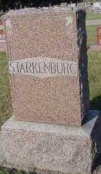 STARKENBURG, HEADSTONE - Sioux County, Iowa | HEADSTONE STARKENBURG