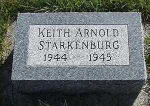 STARKENBURG, KEITH ARNOLD - Sioux County, Iowa | KEITH ARNOLD STARKENBURG