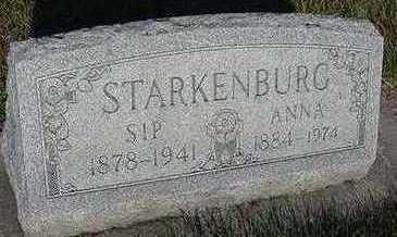 STARKENBURG, ANNA (MRS. SIP) - Sioux County, Iowa | ANNA (MRS. SIP) STARKENBURG