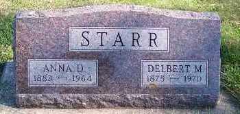 STARR, ANNA D. - Sioux County, Iowa | ANNA D. STARR
