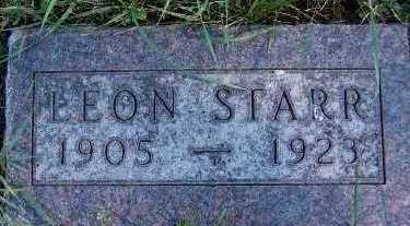 STARR, LEON - Sioux County, Iowa | LEON STARR