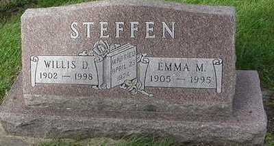 STEFFEN, EMMA M. (MRS. WILLIS) - Sioux County, Iowa | EMMA M. (MRS. WILLIS) STEFFEN