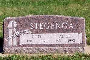 STEGENGA, ALICE - Sioux County, Iowa | ALICE STEGENGA