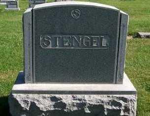 STENGEL, HEADSTONE - Sioux County, Iowa | HEADSTONE STENGEL