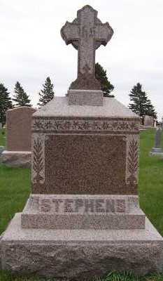 STEPHENS, HEADSTONE - Sioux County, Iowa | HEADSTONE STEPHENS