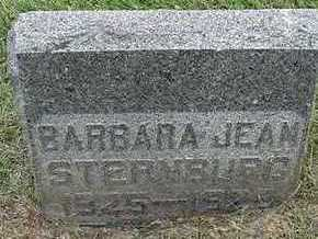 STERRENBURG, BARBARA JEAN - Sioux County, Iowa   BARBARA JEAN STERRENBURG