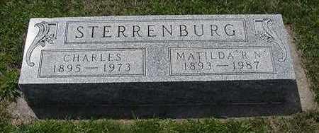 STERRENBURG, CHARLES - Sioux County, Iowa | CHARLES STERRENBURG