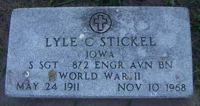 STICKEL, LYLE C. - Sioux County, Iowa | LYLE C. STICKEL