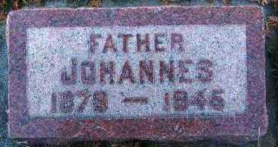 STIENTJES, JOHANNES - Sioux County, Iowa | JOHANNES STIENTJES