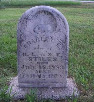 STILES, CHARLES E. - Sioux County, Iowa | CHARLES E. STILES