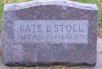 STOLL, KATE B. - Sioux County, Iowa | KATE B. STOLL