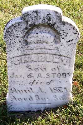STORY, CHARLEY (SON OF J.& A.) - Sioux County, Iowa | CHARLEY (SON OF J.& A.) STORY