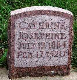 STREIT, CATHERINE JOSEPHINE - Sioux County, Iowa   CATHERINE JOSEPHINE STREIT