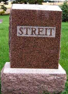 STREIT, HEADSTONE - Sioux County, Iowa | HEADSTONE STREIT