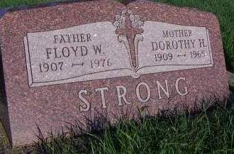 STRONG, DOROTHY H. - Sioux County, Iowa | DOROTHY H. STRONG