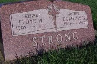 STRONG, FLLOYD W. - Sioux County, Iowa | FLLOYD W. STRONG