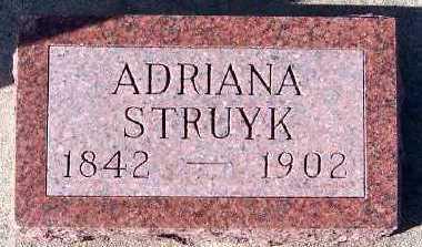 STRUYK, ADRIANA - Sioux County, Iowa | ADRIANA STRUYK