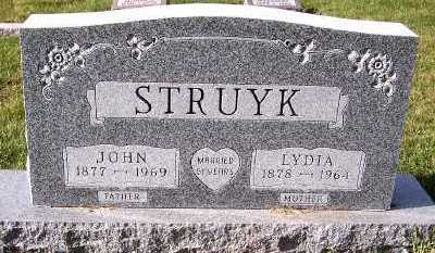STRUYK, LYDIA - Sioux County, Iowa | LYDIA STRUYK