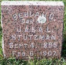STUTZMAN, BEULAH C. (DAU OF J.A.& A.L.) - Sioux County, Iowa | BEULAH C. (DAU OF J.A.& A.L.) STUTZMAN