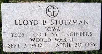 STUTZMAN, LLOYD B. - Sioux County, Iowa | LLOYD B. STUTZMAN