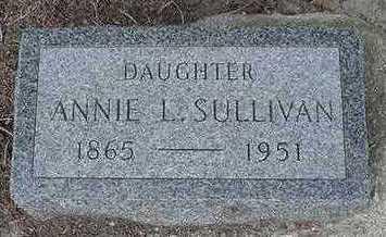 SULLIVAN, ANNIE L. - Sioux County, Iowa | ANNIE L. SULLIVAN