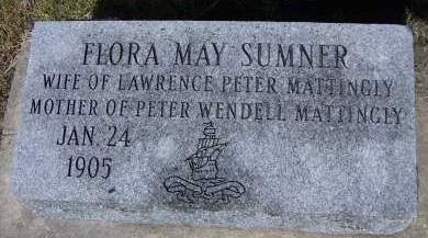 SUMNER, FLORA MAY - Sioux County, Iowa | FLORA MAY SUMNER