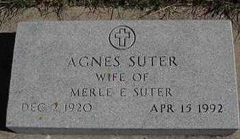 SUTER, AGNES (MRS. MERLE E.) - Sioux County, Iowa | AGNES (MRS. MERLE E.) SUTER