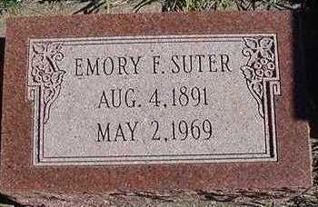 SUTER, EMORY F. - Sioux County, Iowa | EMORY F. SUTER