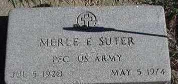 SUTER, MERLE E. - Sioux County, Iowa | MERLE E. SUTER