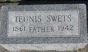 SWETS, TEUNIS - Sioux County, Iowa   TEUNIS SWETS